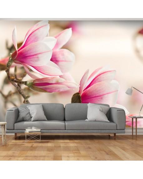 Stenska poslikava Branch of magnolia tree
