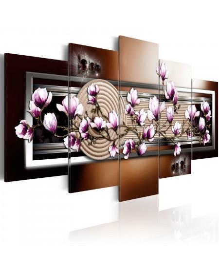 Slika Zen garden and magnolia