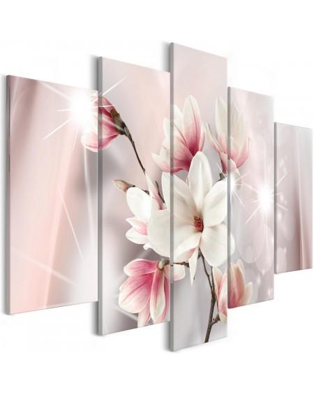 Slika Dazzling Magnolias (5 Parts) Wide