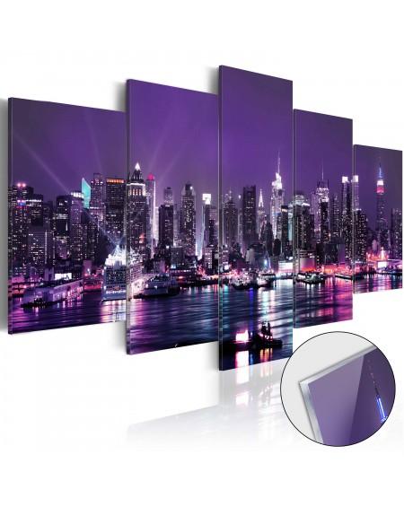 Akrilni tisk Purple Sky [Glass]