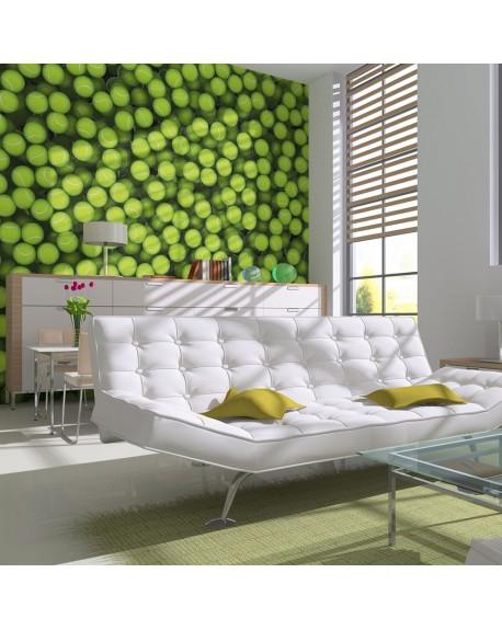 Stenska poslikava Tennis balls background