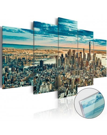 Akrilni tisk NY Dream City [Glass]