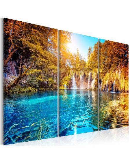 Slika Waterfalls of Sunny Forest