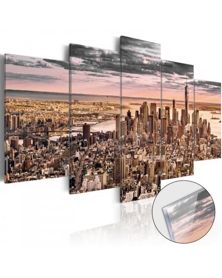 Akrilni tisk New York City Morning Sky [Glass]