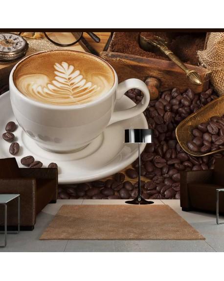 Stenska poslikava Maybe coffee?