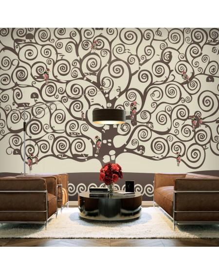 Stenska poslikava Spiral branches