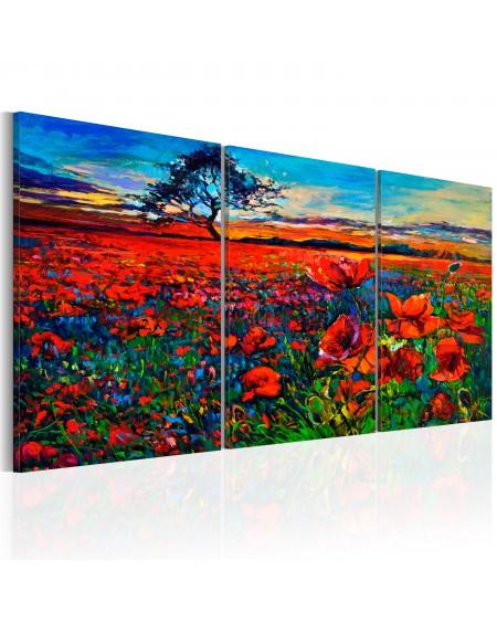 Slika Valley of Poppies