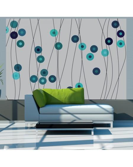 Stenska poslikava - Azure buttons