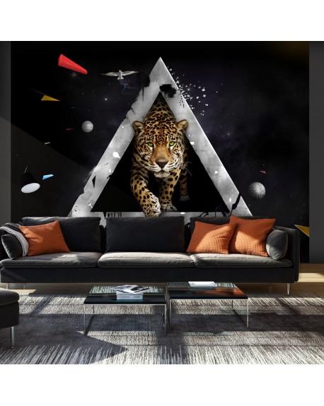 Stenska poslikava Wild vision of the future