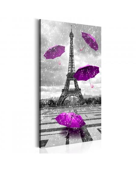 Slika Paris Purple Umbrellas