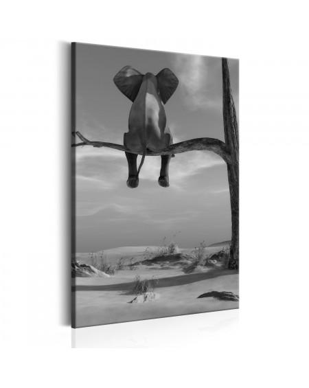 Slika Resting Elephant