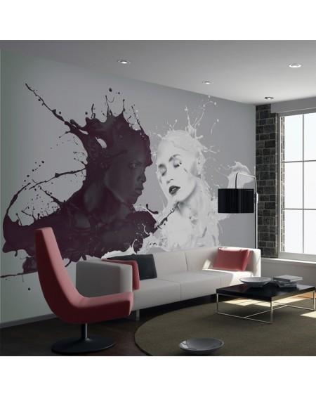 Stenska poslikava - Opposites attract