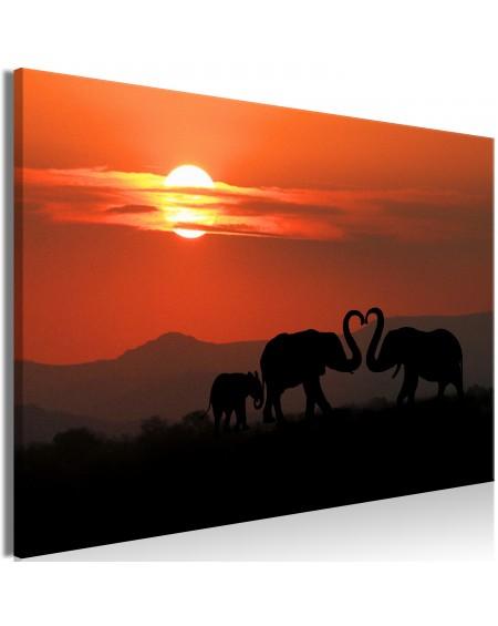 Slika Elephants in Love (1 Part) Wide