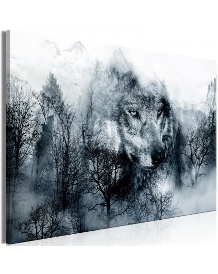 Slika Mountain Predator (1 Part) Wide Black and White