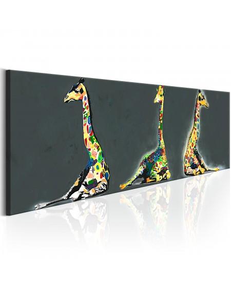 Slika Colourful Giraffes