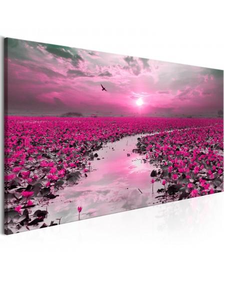 Slika Lilies and Sunset (1 Part) Narrow