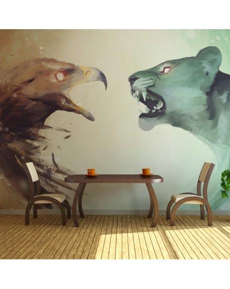 Stenska poslikava Interspecies clash