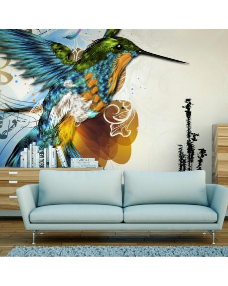 Stenska poslikava Marvelous bird