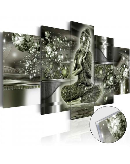 Akrilni tisk - Emerald Buddha [Glass]