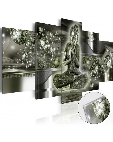 Akrilni tisk Emerald Buddha [Glass]