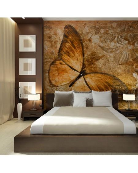 Stenska poslikava - butterfly (sepia)
