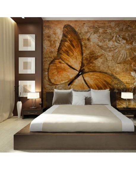 Stenska poslikava butterfly (sepia)