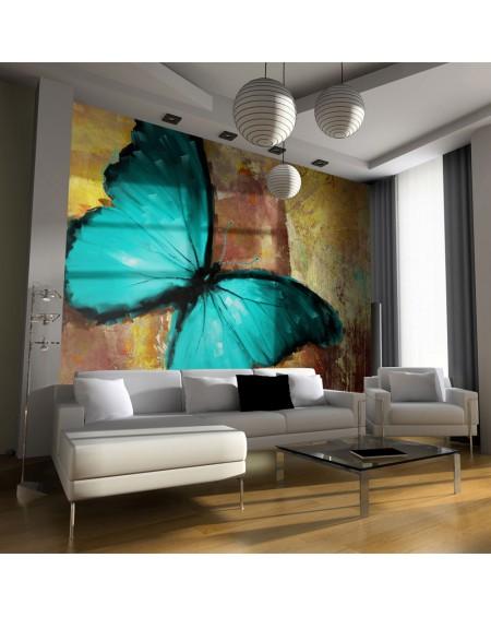 Stenska poslikava - Painted butterfly