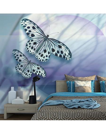 Stenska poslikava - Planet of butterflies