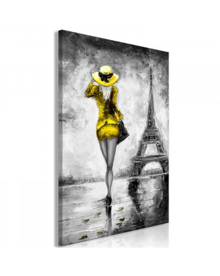 Slika Parisian Woman (1 Part) Vertical Yellow