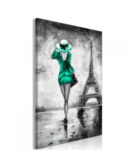 Slika Parisian Woman (1 Part) Vertical Green