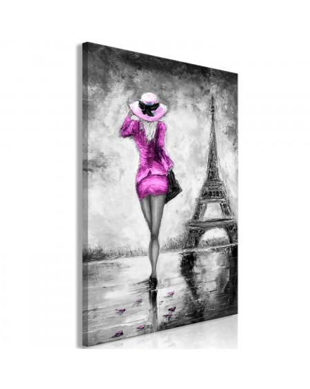 Slika Parisian Woman (1 Part) Vertical Pink