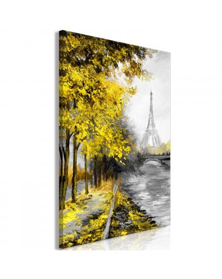 Slika Paris Channel (1 Part) Vertical Yellow