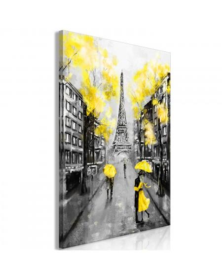 Slika Paris RendezVous (1 Part) Vertical Yellow