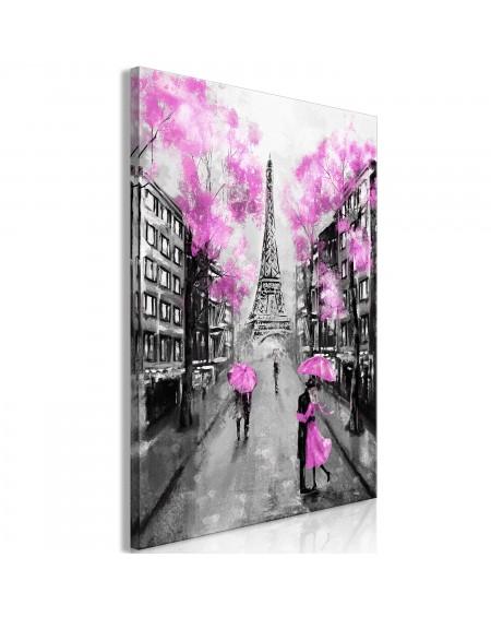 Slika Paris RendezVous (1 Part) Vertical Pink