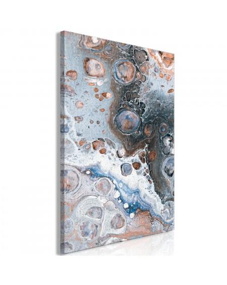 Slika Blue Sienna Marble (1 Part) Vertical