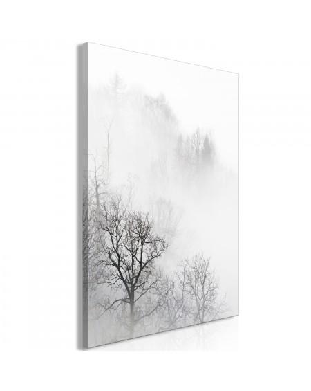 Slika Trees In The Fog (1 Part) Vertical