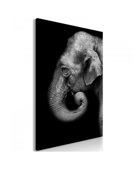 Slika Portrait of Elephant (1 Part) Vertical