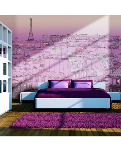 Stenska poslikava Friday evening in Paris