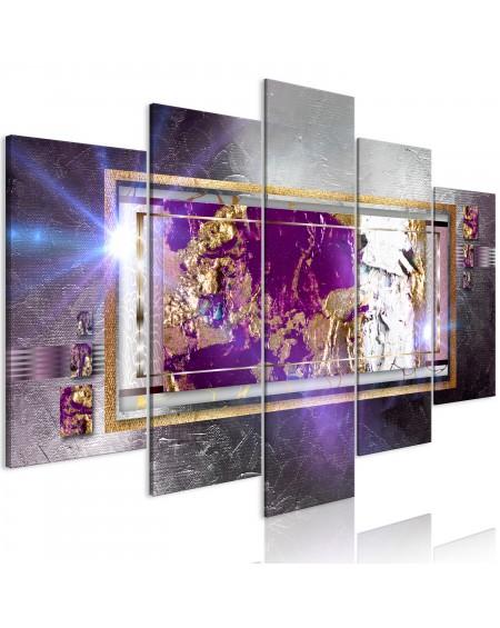 Slika Golden Reflection (5 Parts) Wide