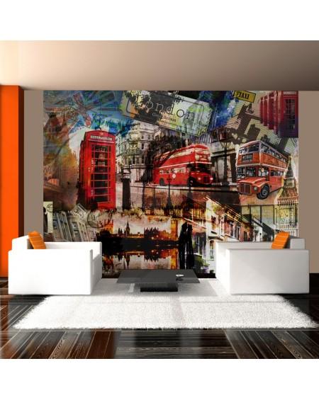 Stenska poslikava - London collage