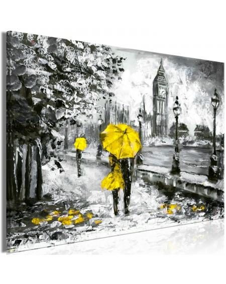 Slika Walk in London (1 Part) Wide Yellow