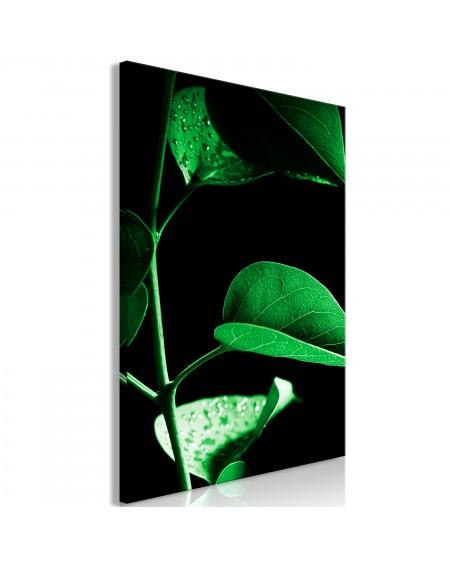 Slika Plant in Black (1 Part) Vertical