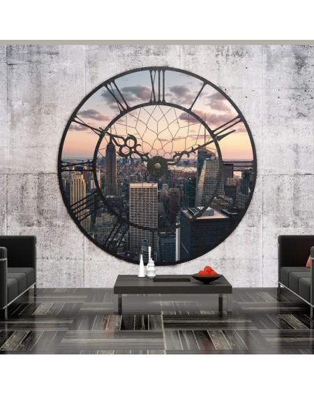 Stenska poslikava - NYC Time Zone