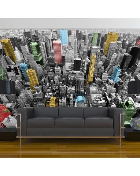 Stenska poslikava NY kaleidoscope
