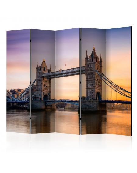 Španska stena Tower Bridge at dawn II [Room Dividers]