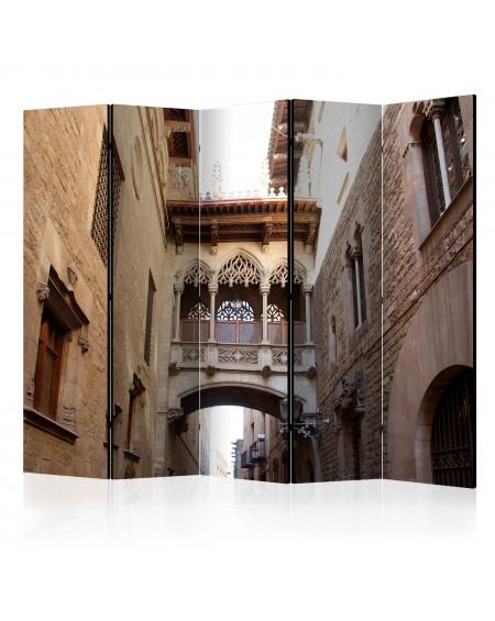 Španska stena Barcelona Palau generalitat in gothic Barrio II [Room Dividers]