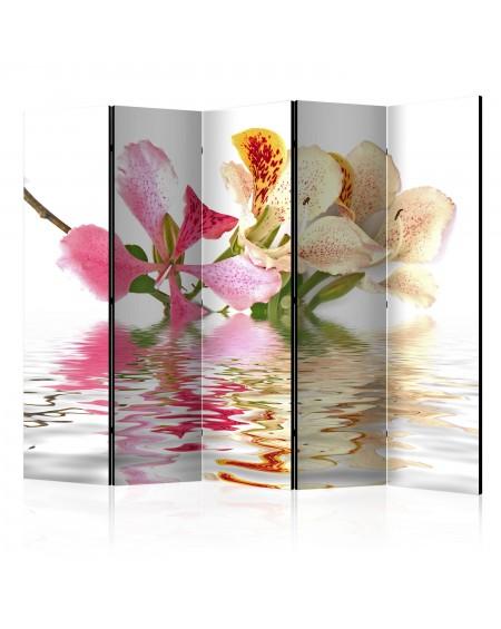 Španska stena Tropical flowers orchid tree (bauhinia) II [Room Dividers]