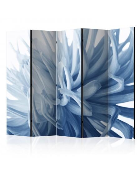 Španska stena Flower blue dahlia II [Room Dividers]