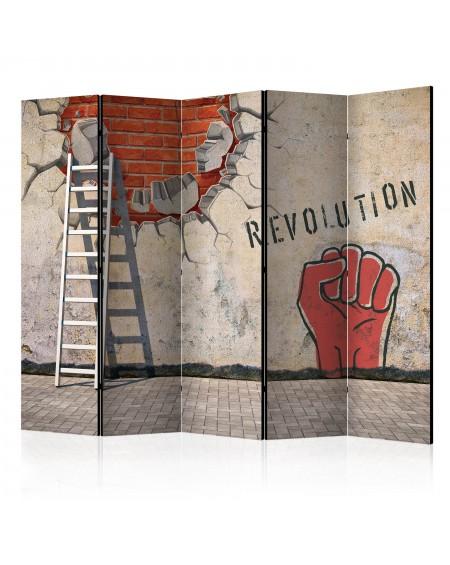Španska stena The invisible hand of the revolution II [Room Dividers]