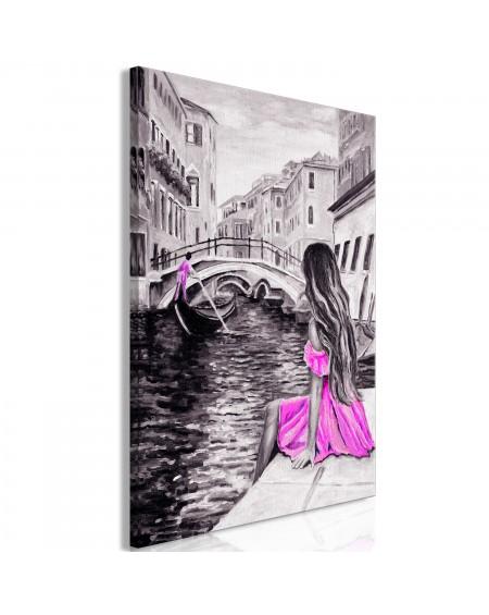 Slika Far Dreams (1 Part) Vertical Pink